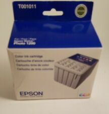 Epson T001011 Color Genuine ink Cartridge For Stylus Photo 1200 Printer Exp 2013