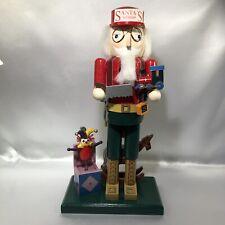 Nutcracker Santas Workshop Bombay Company Toy Maker DIY Builder Jack In The Box