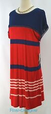 Jason Wu for Target Jersey Dress in Red Navy Stripes T knit knee SIZE M NEW NWT