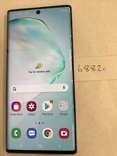 New listing Samsung Galaxy Note10 - Sm-N970U - 256Gb - Silver (Verizon) (6882c)