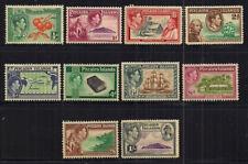 More details for pitcairn islands- gvi 1940-51 set of 10.sg 1-10.light mounted mint.nice lot.
