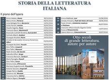 OPERA COMPLETA 49 VOLUMI STORIA DELLA LETTERATURA ITALIANA CORRIERE DELLA SERA
