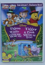 Tigger and pooh and a musical too - DVD Disney - animated movie