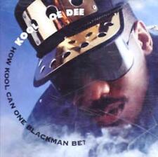 Kool Moe Dee: How Kool Can One Blackman Be? PROMO w/ Artwork MUSIC AUDIO CD 5trk