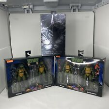 Neca Tmnt Movie Ninja Turtles Bundle lot - Both 2 Packs + Shadow Super Shredder