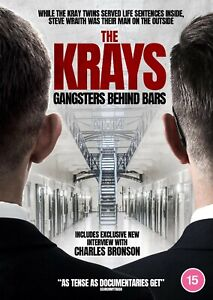 THE KRAYS - GANGSTERS BEHIND BARS (RELEASED 27TH SEPTEMBER) (DVD) (NEW)