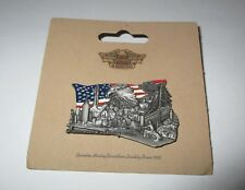 pin's Harley Davidson / From sea to shining sea (relief double attache)