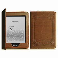"""For All-New Kindle Paperwhite 6"""" Book Style Leather Folio Case Cover Stand"""