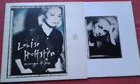 Louise Hoffsten / Message Of Love / LP Vinyl 1991 Slowburn / One Step Back uvm