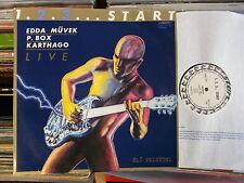 EDDA MÜVEK P.BOX & KARTHAGO HUNGARY START  LP: LIVE /1.2.3...START ( SLPX 17711)