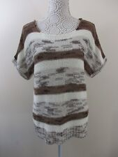 "Per Una (M&S) size 16 Boat neck. Colour ""natural shimmer"" Knitted top."