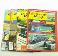 Railroad Model Craftsman magazines from 2003 and 2004 Carstens Lot of 4