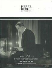 BERGE JEAN PATOU COUTURIER BOOKS MANUSCRIPTS General Lafayette Coll Catalog 2015