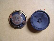 Petit Haut parleur circulaire 5.7 cm 8 ohms  0.5 W lot de 2  /D16