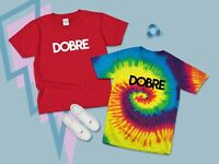 Dobre Brothers T-shirt Tee Youtuber Kids Youth Children's Boys Girls Tie Dye