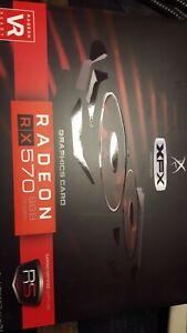 XFX Radeon RX 570 8GB DDR5 Graphics Card (RX-570P8DBD6)