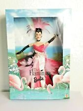 1998 THE FLAMINGO Barbie Collector Edition Birds of Beauty Collection Untouched