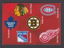 CANADA BOOKLET BK604 92c  x 6 NHL ORIGINAL SIX DEFENCMEN