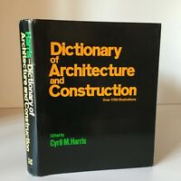 Dictionary Of Arquitectura Y Construcción Cyril M.Harris 1975