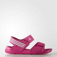 new styles 83a66 05cf1 NEW Adidas Akwah 9 Infant AF3867 PinkWhite Baby Girls Strap Sandals  Toddler 5 K