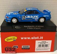 Slot.it Ca47b Nissan Skyline Gt-r Winner JTC 1993 Calsonic - 1 32 Scale Slot Car