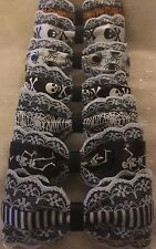 7 Hair Bows Creepy Cute Lolita Goth Kawaii Skulls Web Lace Emo Punk Pinup Black
