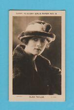 FILM  STARS  -  EVERY  GIRLS  PAPER  -  ALMA  TAYLOR  -  1924