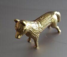 1 Pcs Feng Shui Brass Dog Handcraft Zodiac Honesty Loyalty