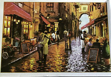1000 Piece Jigsaw Puzzle Italy Street Scene Complete