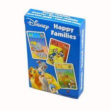 Disney-Familles heureuses cartes à jouer-Dumbo BAMBI BLANCHE NEIGE-nouveau CARTAMUNDI