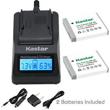NB-6L Battery& Charger for Canon PowerShot SX280 HS, SX500 IS, SX510 HS, SX520 H