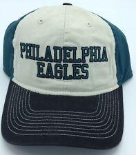 ce1beb8cd NFL Philadelphia Eagles Reebok Adult Slouch Adjustable Fit Curved Brim Cap  NEW!