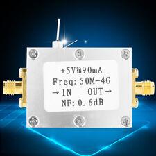 Rumore Basso Amplifier LNA 50M-4GHz NF=0.6dB RF FM HF VHF/UHF Ham Radio -110dBm