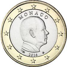 manueduc  MONACO  1 EURO  2016   ALBERTO II  NUEVA