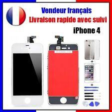 iPhone 4 - Écran Blanc LCD Vitre Tactile Sur Chassis Qualité Origine AAA+++