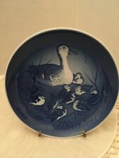 1973 Bing and Grondahl Mother's Day Series Plate Mallard Mama Duck & Ducklings