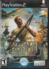 Medal of Honor: Rising Sun (Sony PlayStation 2, 2003) PS2 Complete