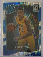 2017-18 Kyle Kuzma Donruss Optic Shock Rated Rookie RC Prizm Lakers #174