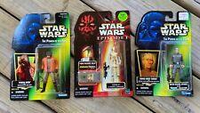 Star Wars Action Figures (Set of 3) Grand Moff Tarkin, Ponda Baba, & OOm-9