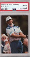 1992 PGA Tour Pro Set - CHIP BECK - PSA - 9 Neuf