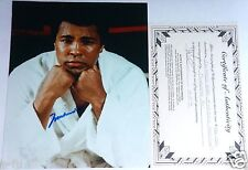 MUHAMMAD ALI Signed Boxing 8x10 Photo Autograph Alfie's Of Hollywood IP COA Auto