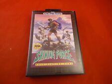 Shining Force I Sega Genesis Empty Box ONLY (no manual, game) #H1
