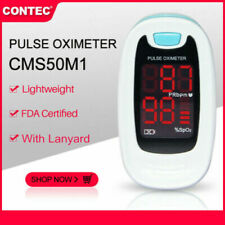 Finger Pulse Oximeter Blood Oxygen Saturation Spo2 Heart Rate O2 Patient Monitor