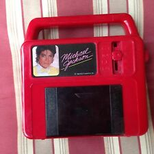 Vintage Michael Jackson 1984 Cassette Player Vanity Fair - For Parts / Repair