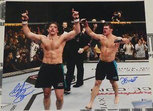 Stephan Bonnar Forrest Griffin Signed 16x20 Photo BAS COA UFC Picture Autograph