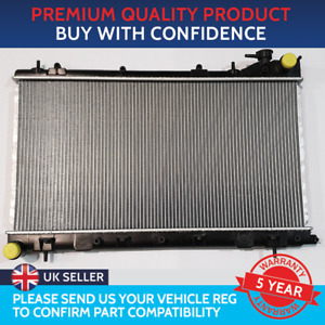 RADIATOR TO FIT SUBARU FORESTER 2002 TO 2008 TURBO WITH FILLER NECK MANUAL