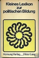 Hautmann/Kroher-Kleines Lexikon der politischen Bildung