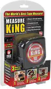 Measure King laser measuring ruler 3in1 Digital tape measuring string mode sonic