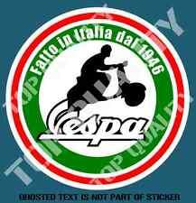 SCOOTER VESPA DAL 1946 DECAL STICKER SUIT VESPA MOPED LAMBRETTA MOD ROCKER RIDE