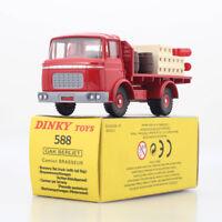 1:43 ATLAS Dinky toys 588 GAK BERLIET Camion BRASSEUR Kronenbourg car model RED